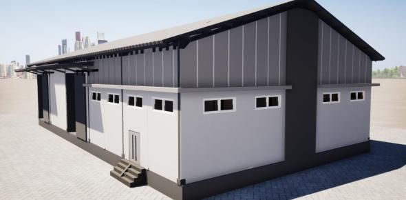 Jasa Pembuatan Dan Desain Gudang Modern Di Sulawesi Selatan
